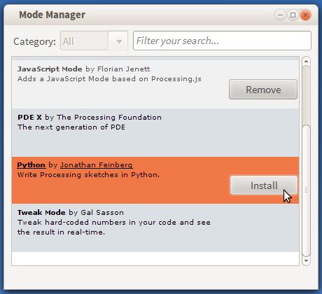Install Python Mode.