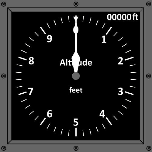 Altitude indicator