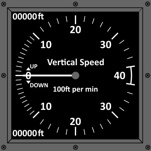 VSpeed indicator