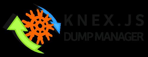 Knexjs Dump Manager (knexdm) Logo
