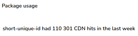 image depicting over 100000 weekly cdn hits