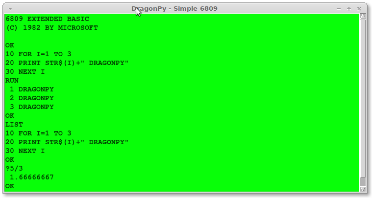 screenshot simple6809