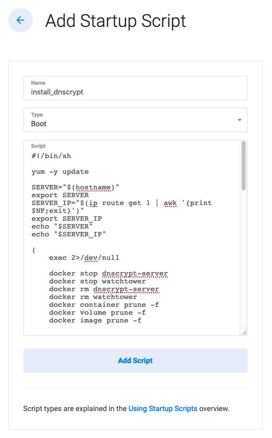 DNSCrypt server with vultr com · DNSCrypt/dnscrypt-proxy