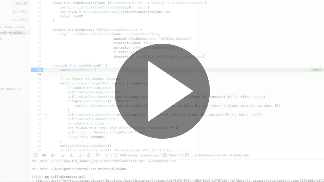 Play: Sample App Demonstration Video