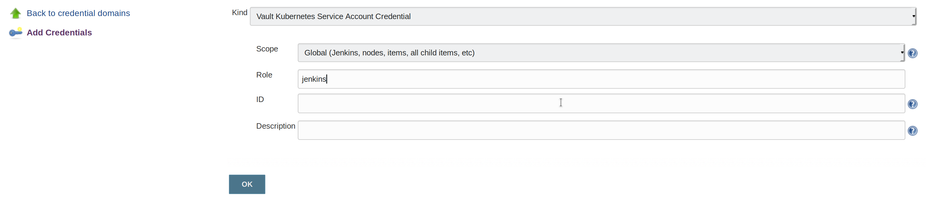 Kubernetes Credential