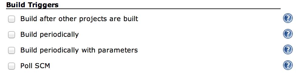 Parameterized Schedular Config