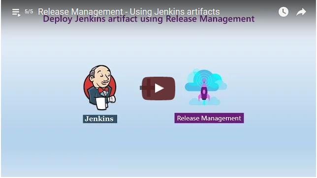 Release Jenkins artifact