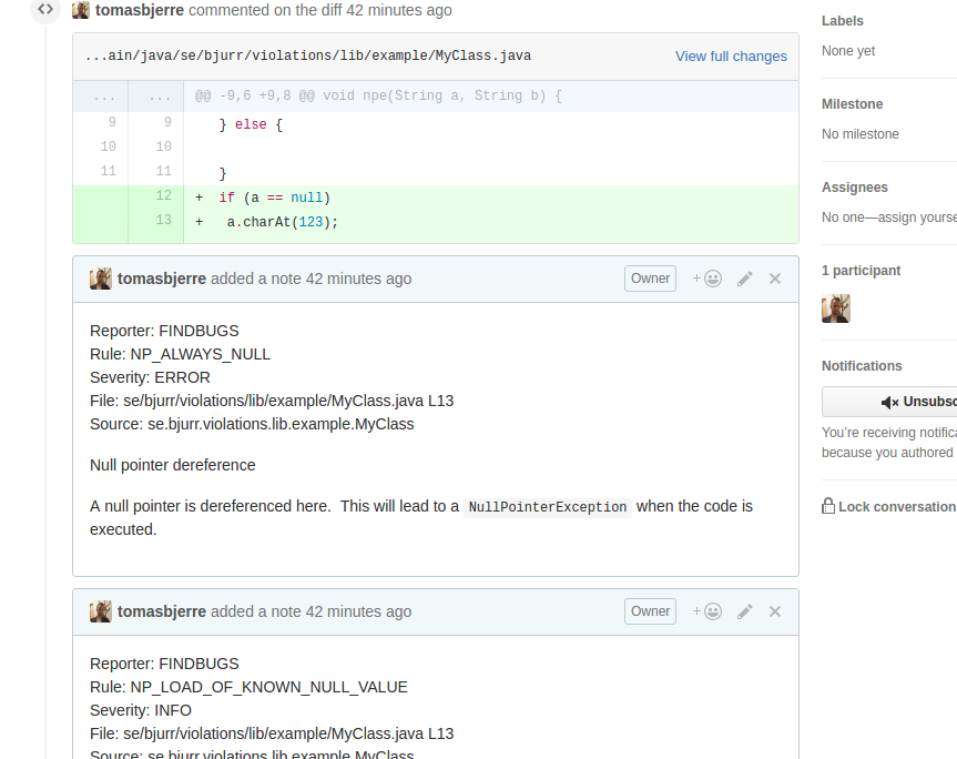 jenkinsci / violation-comments-to-github-plugin Download