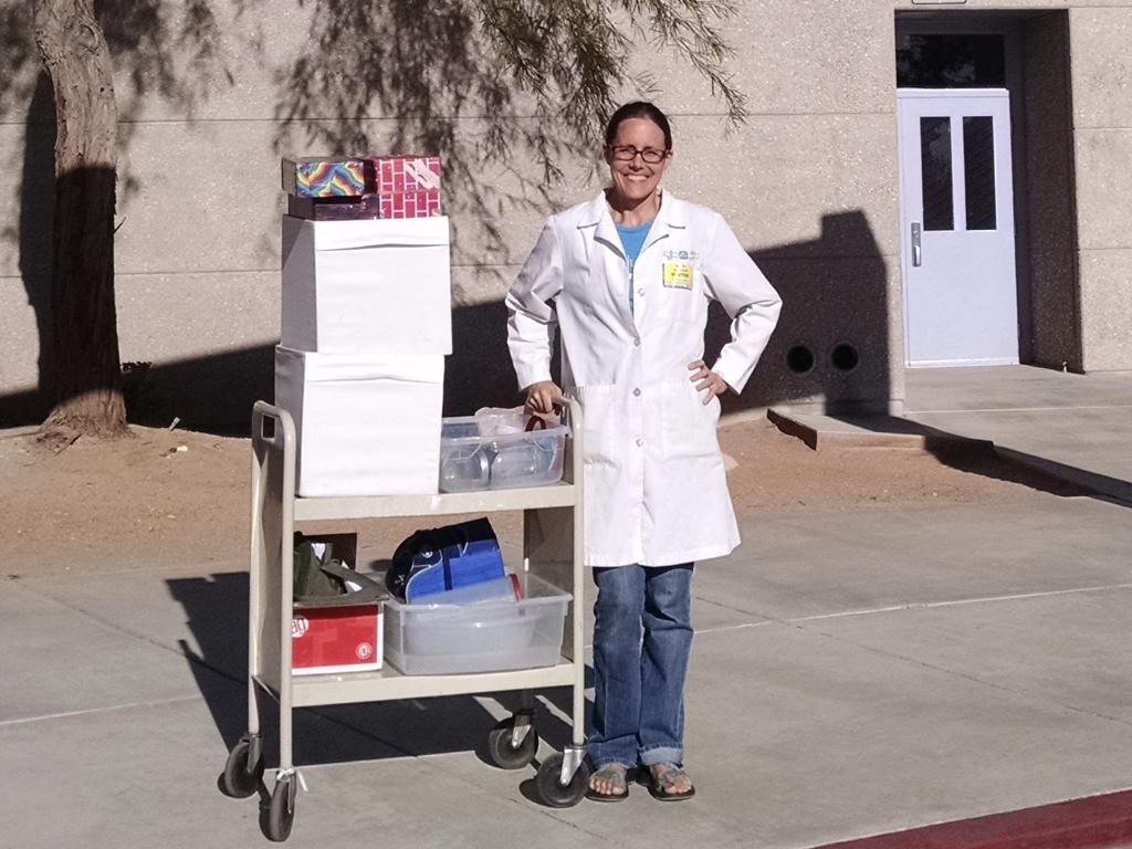 Scientist in Secret Lab.