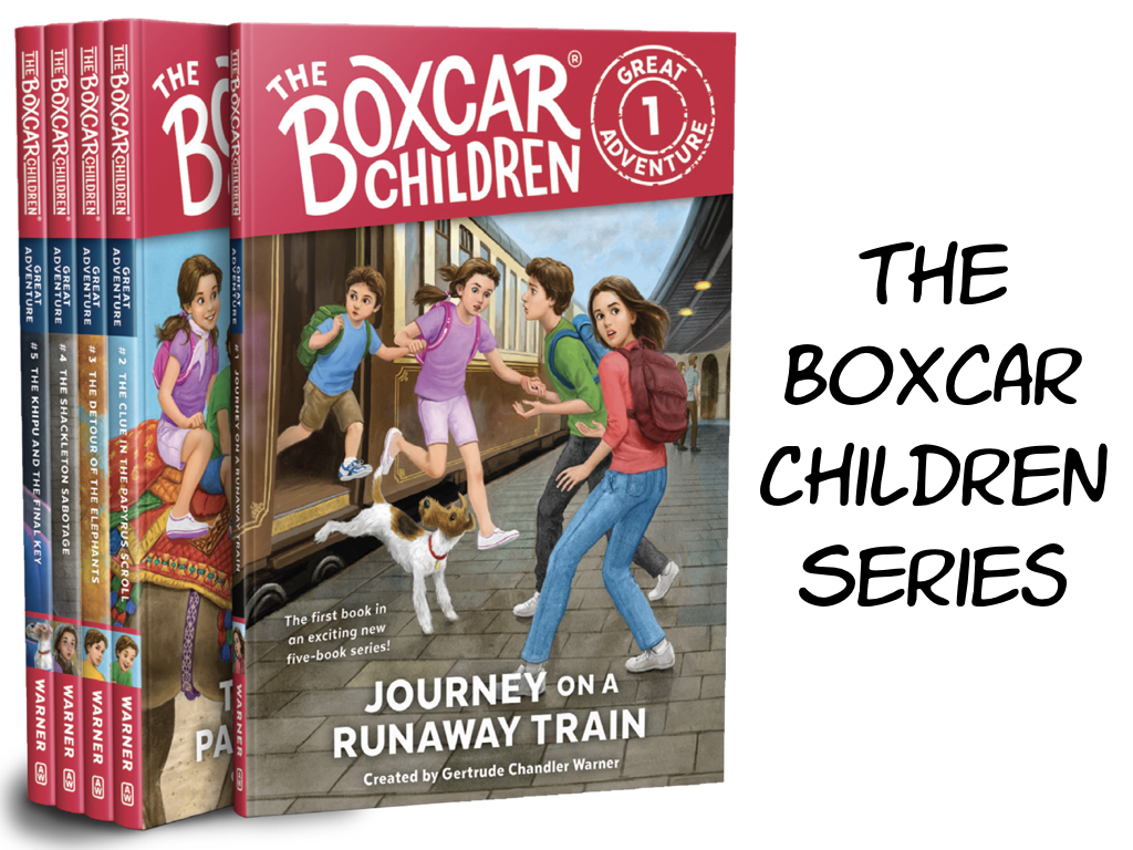 The Boxcar Children Series.