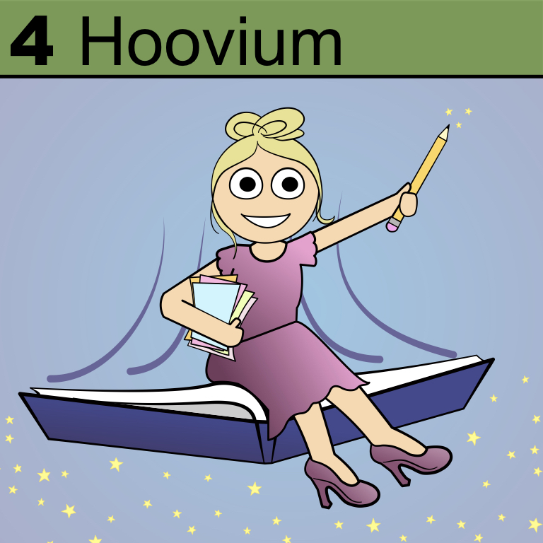 Element 4 from the Periodic Tabel of Patrons: Hoovium.