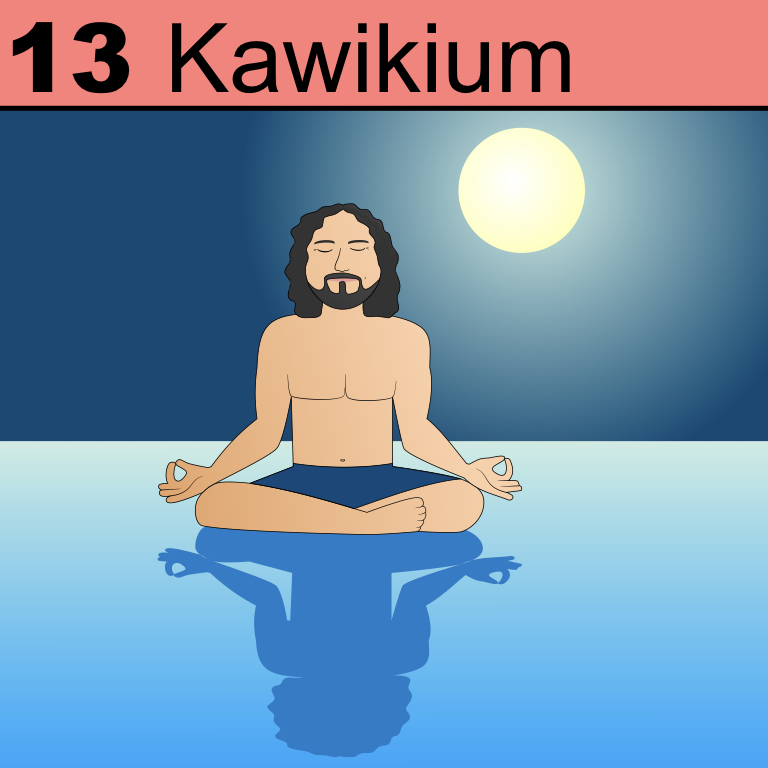 Element 13 from the Periodic Tabel of Patrons: Kawikium.