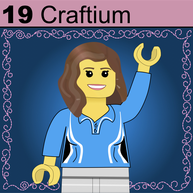 Element 19 from the Periodic Table of Patrons: Craftium.