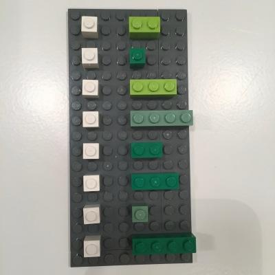 dataframe with lego