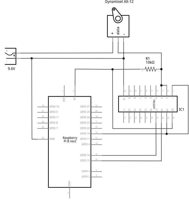 74LS241 schematic