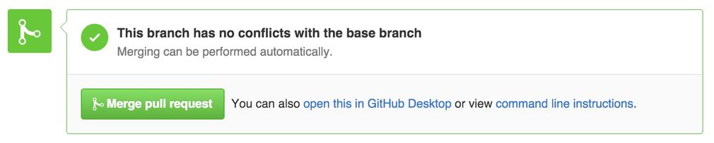 GitHub Merge