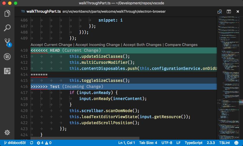 VS Code Merge
