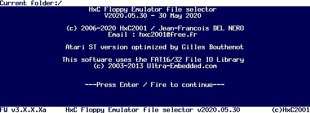 HxC File Selector