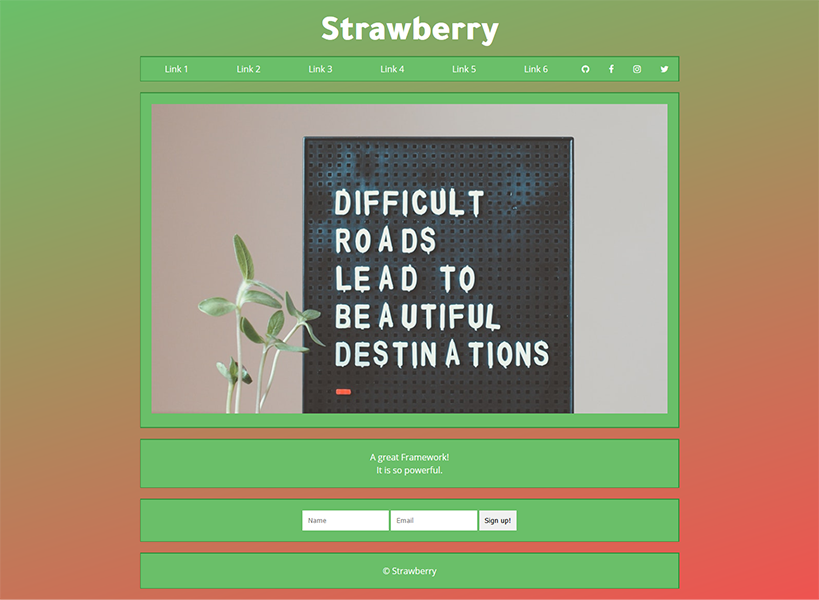 strawberry-css logo