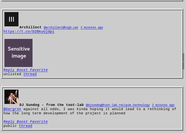 Brutaldon in Firefox - Full Brutalism (2)