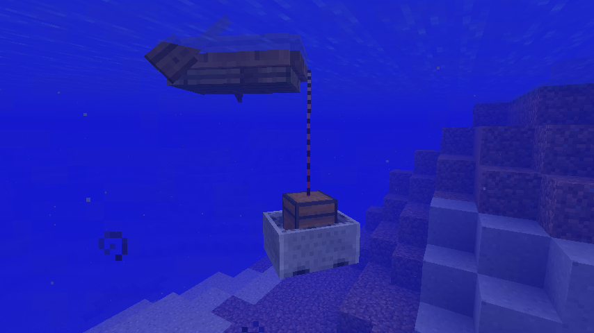 Connect boats and minecarts together!