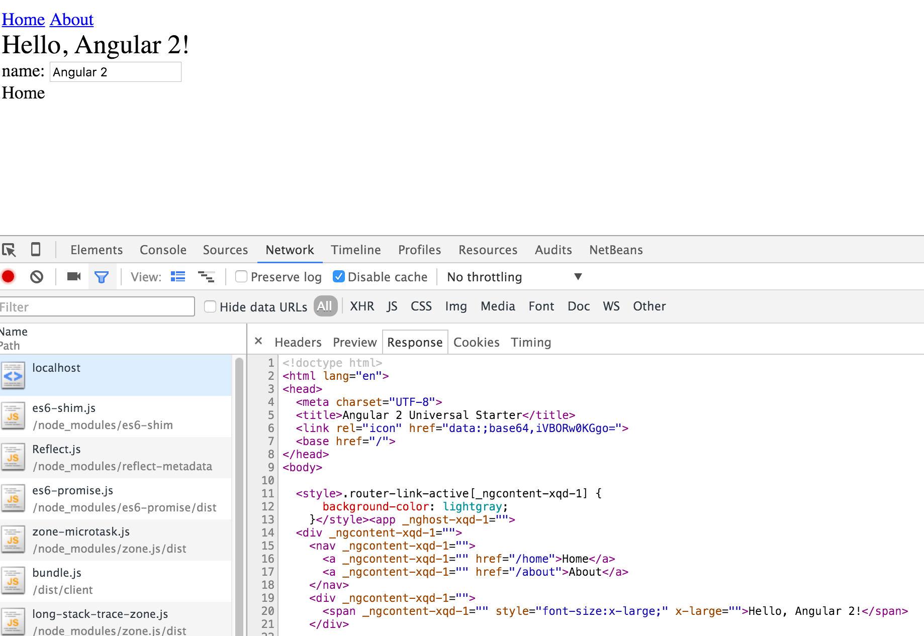Angular coming to Java,  Net and PHP - A multi-language Platform