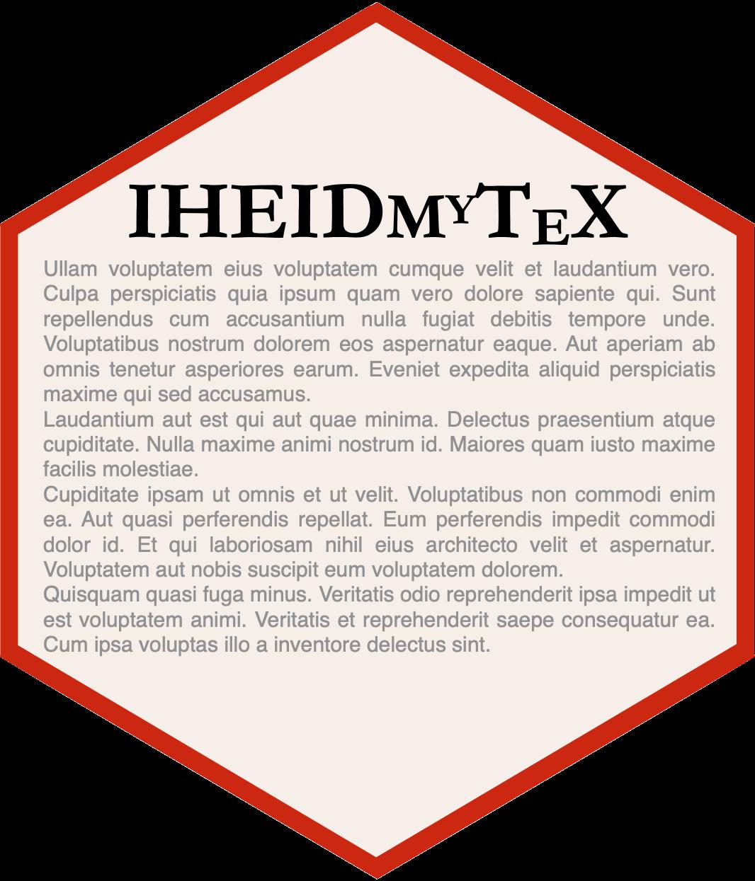 iheidmytex hex sticker