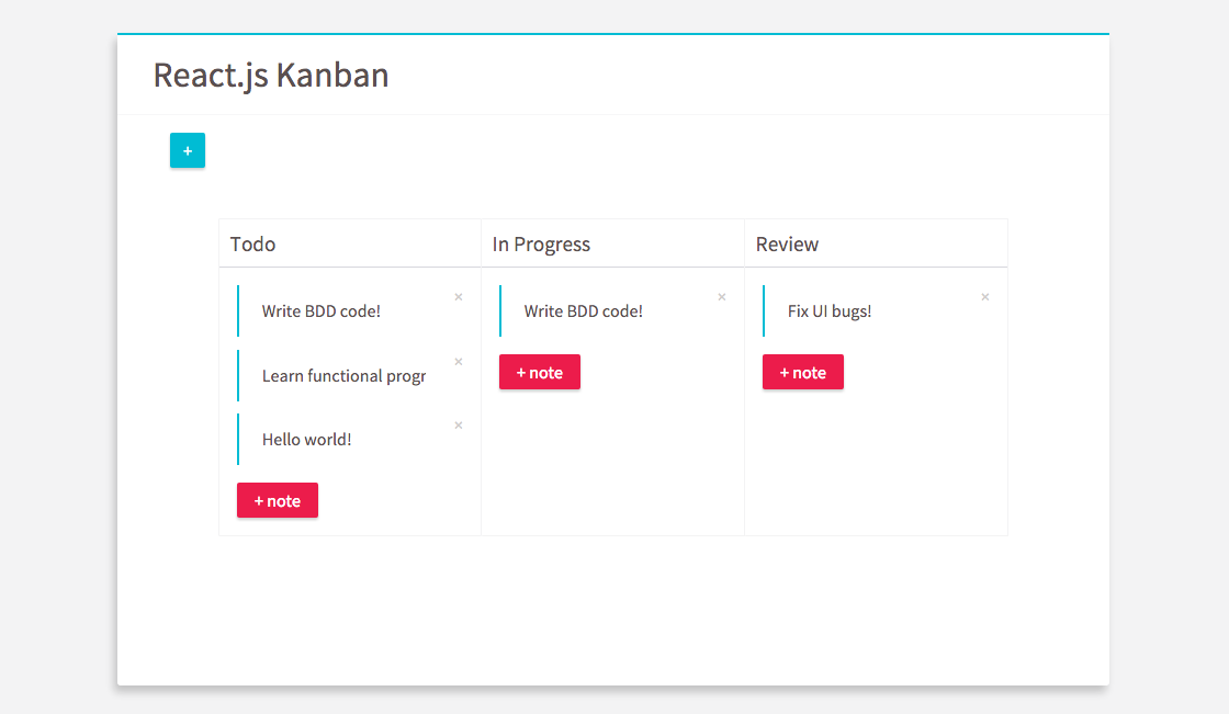 github jiayihu react kanban kanban board built with and redux. Black Bedroom Furniture Sets. Home Design Ideas