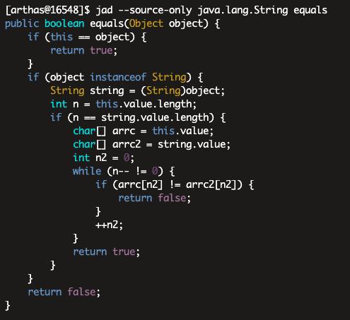 arthas-jad-method
