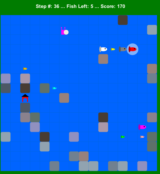 Image of Finding Fish Game