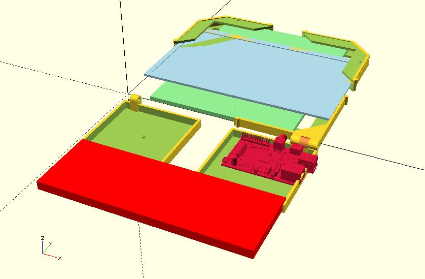 Complete render