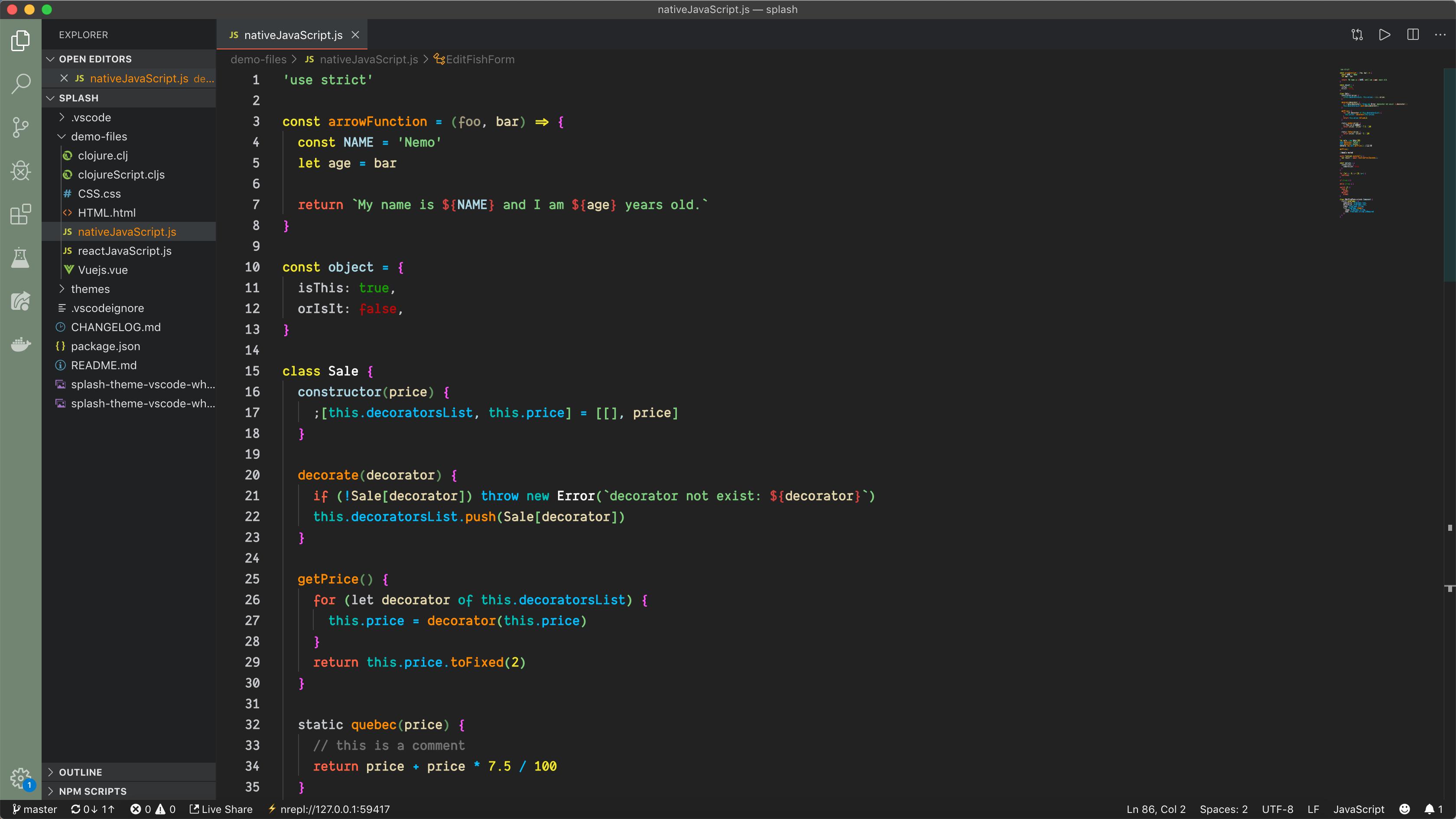 nativeJavaScript