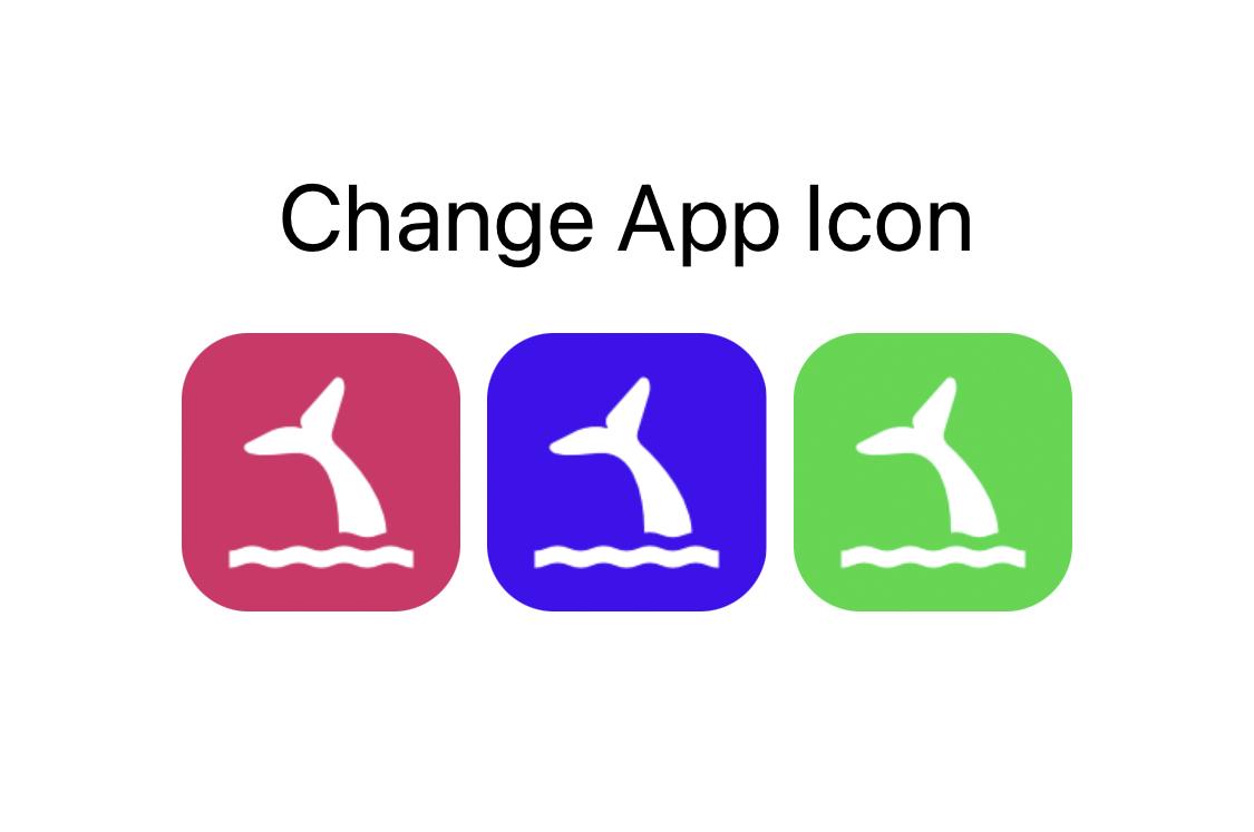 Change App Icon