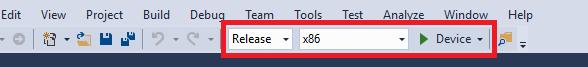 Visual Studio Settings