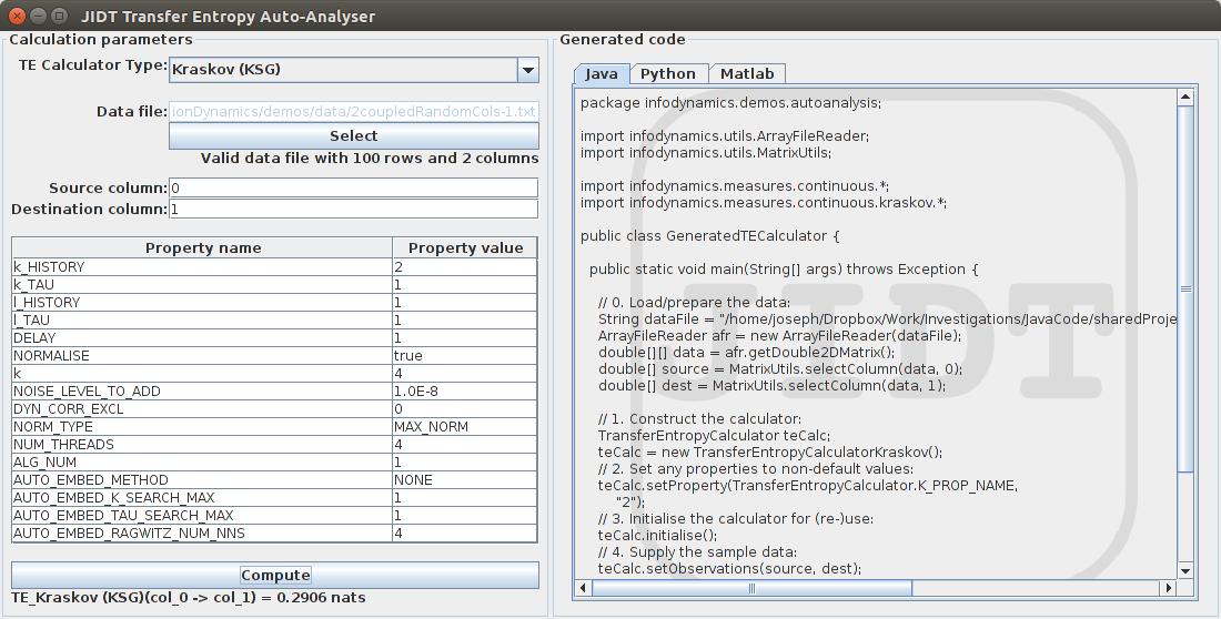 GitHub - jlizier/jidt: JIDT: Java Information Dynamics