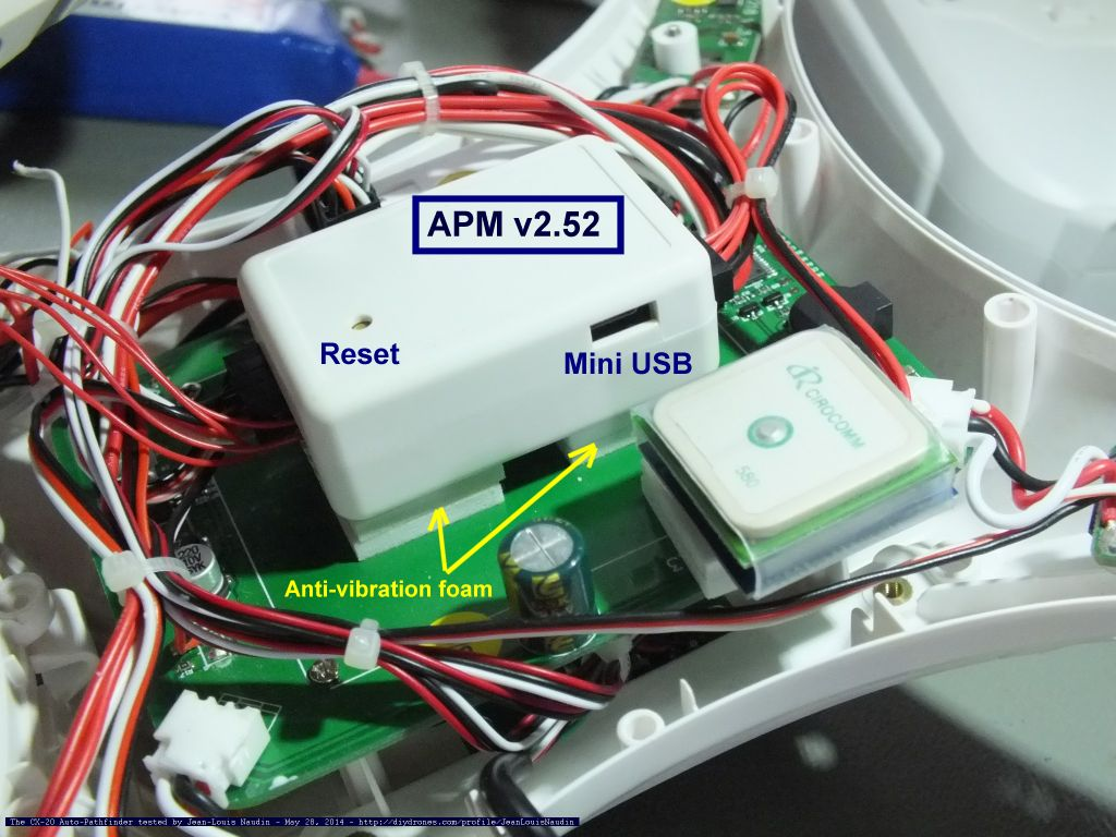 CX20foamisolation inside the cheerson cx 20 auto pathfinder (or called the quanum cheerson cx20 wiring diagram at bayanpartner.co