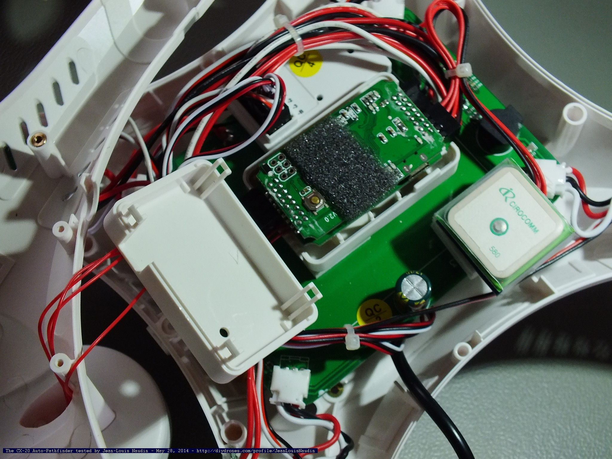 cx20inside02 inside the cheerson cx 20 auto pathfinder (or called the quanum cheerson cx20 wiring diagram at bayanpartner.co