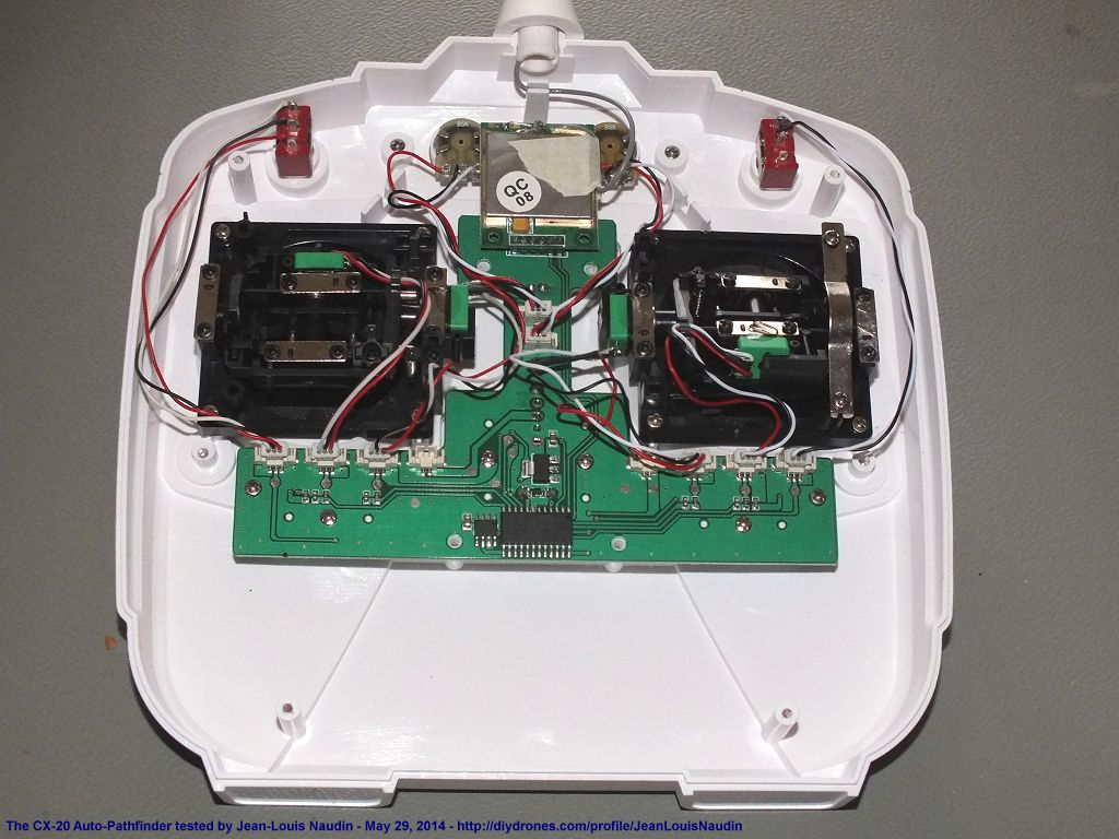 cx20transmitter inside the cheerson cx 20 auto pathfinder (or called the quanum cheerson cx20 wiring diagram at bayanpartner.co