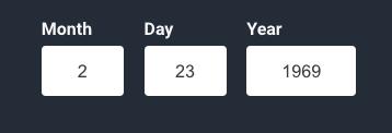 Input Datepicker