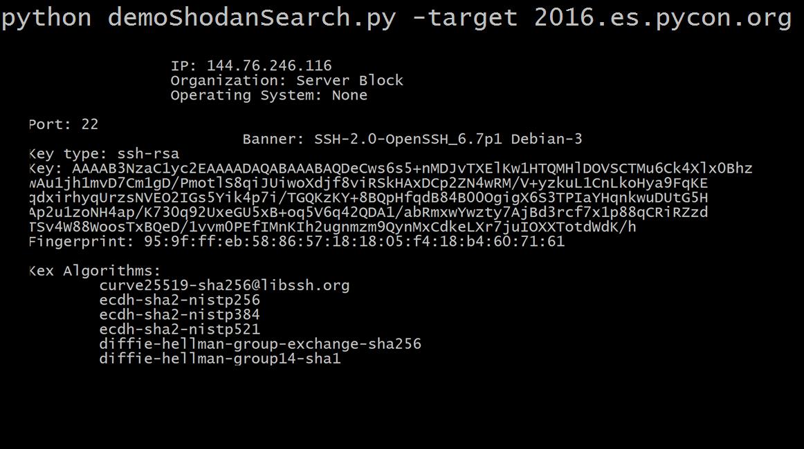 ShodanSearch