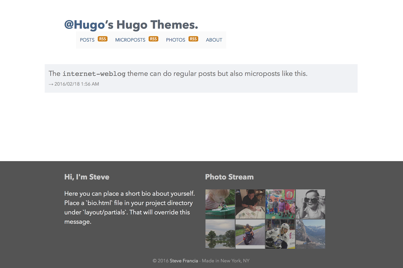 internet-weblog showing a Micropost.