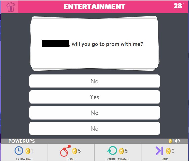 Trivia Crack Prom
