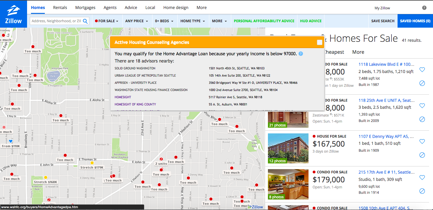 Nearby Active Housing Counseling Agencies