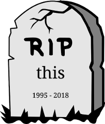 Tombstone - this 1995-2018