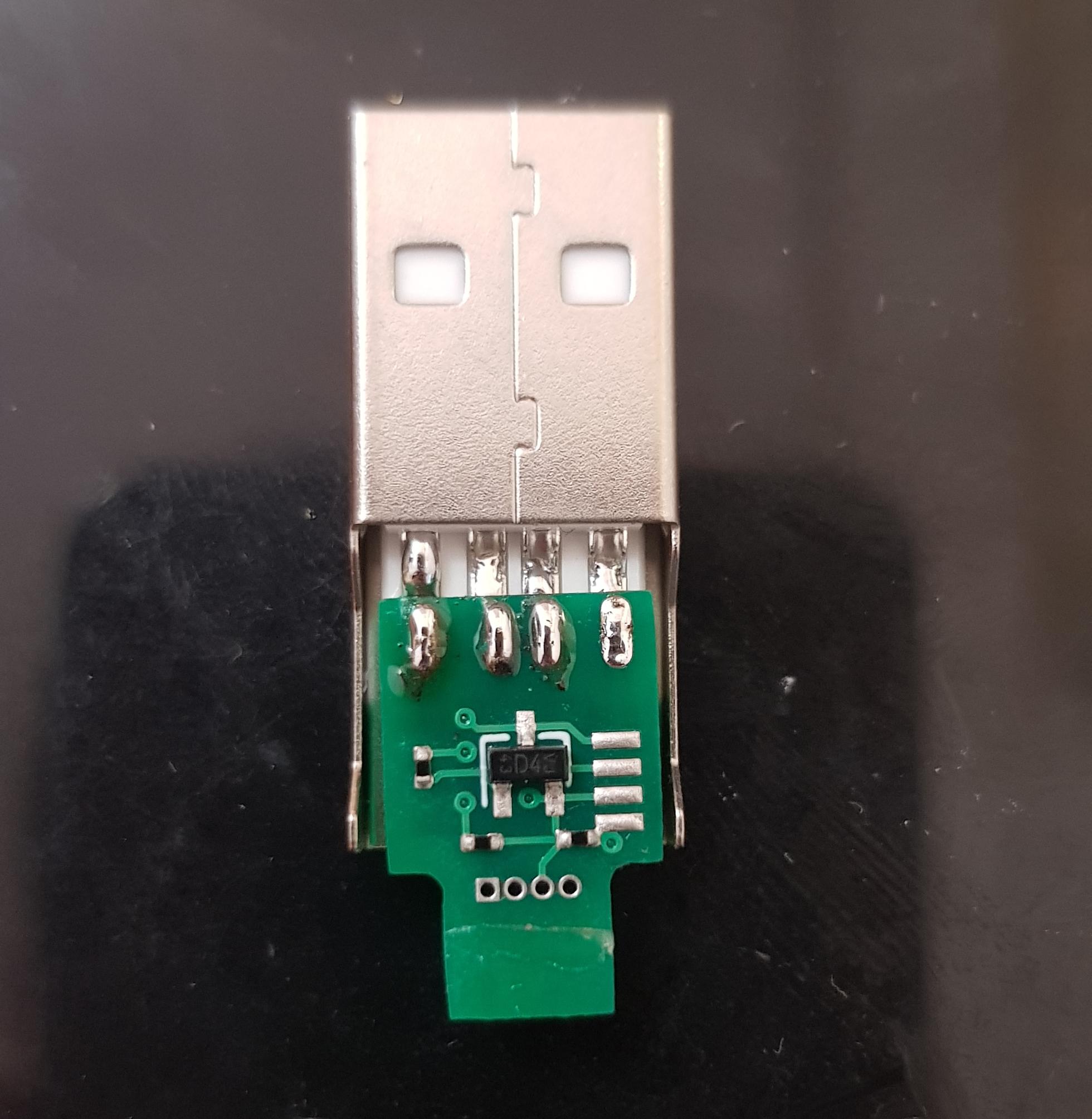 Final USB connector