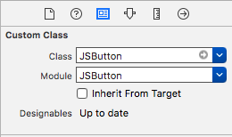 Add JSButton to storyboard