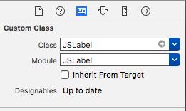 Add JsLabel to storyboard