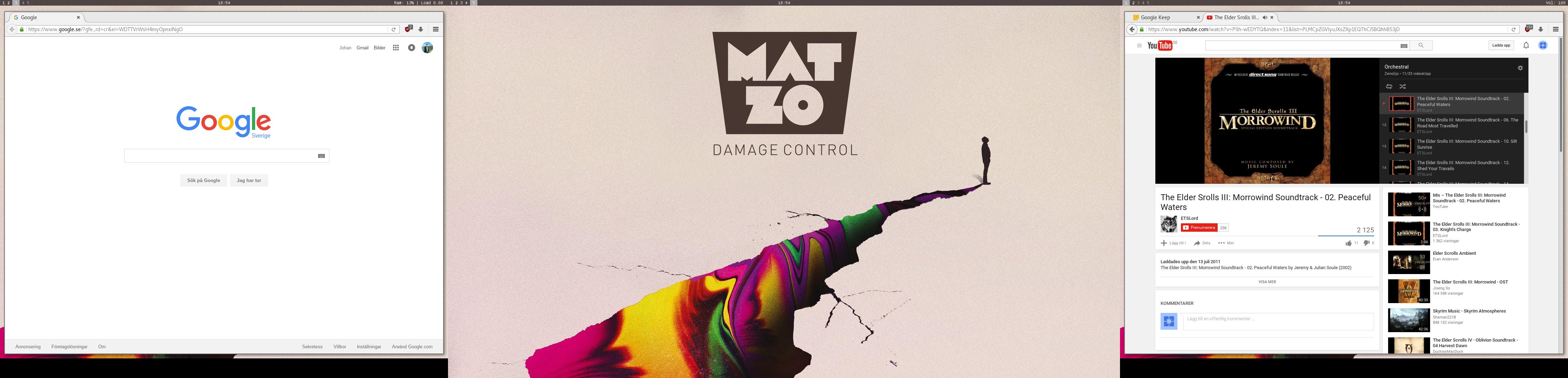 2015-04 bspwm desktop grey matzo