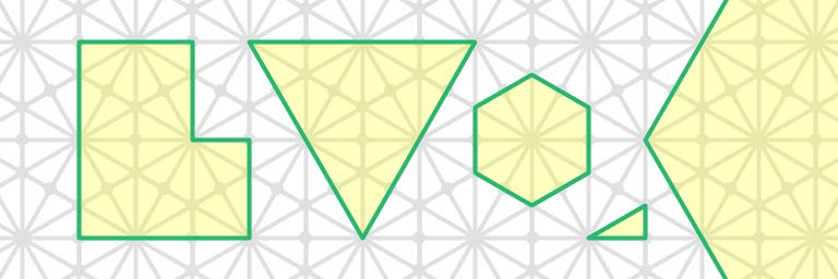 kis grid axes aligned shapes