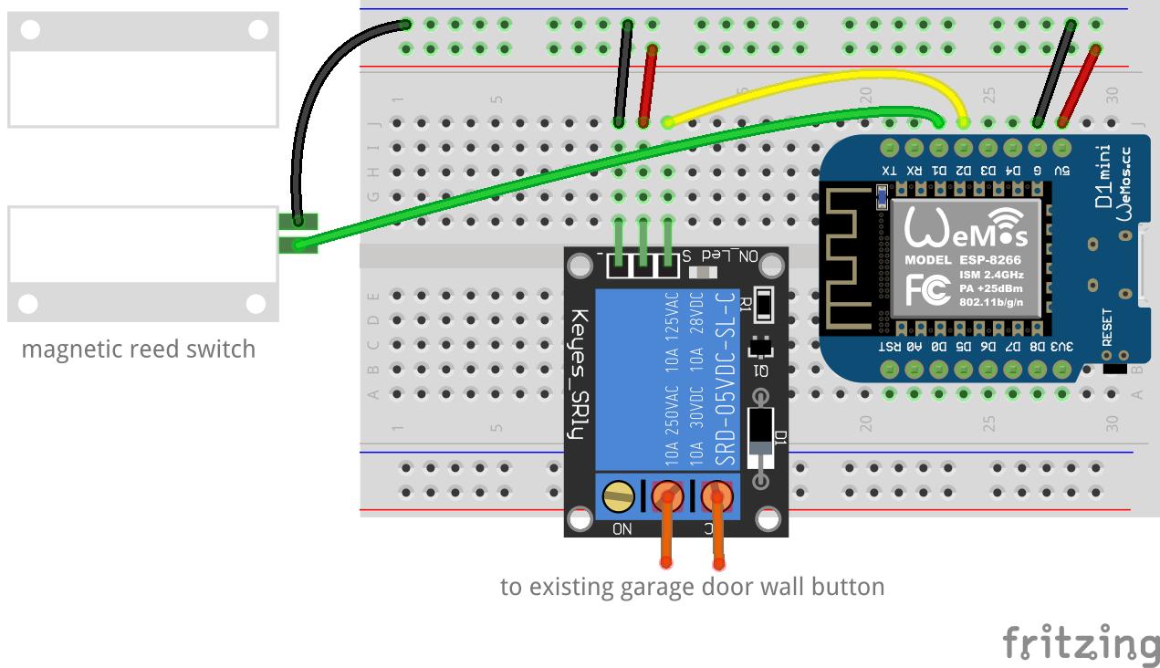 Github Johnboiles Esp Garage Opener Control Your Garage